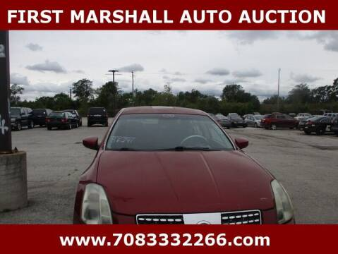 2005 Nissan Maxima for sale at First Marshall Auto Auction in Harvey IL