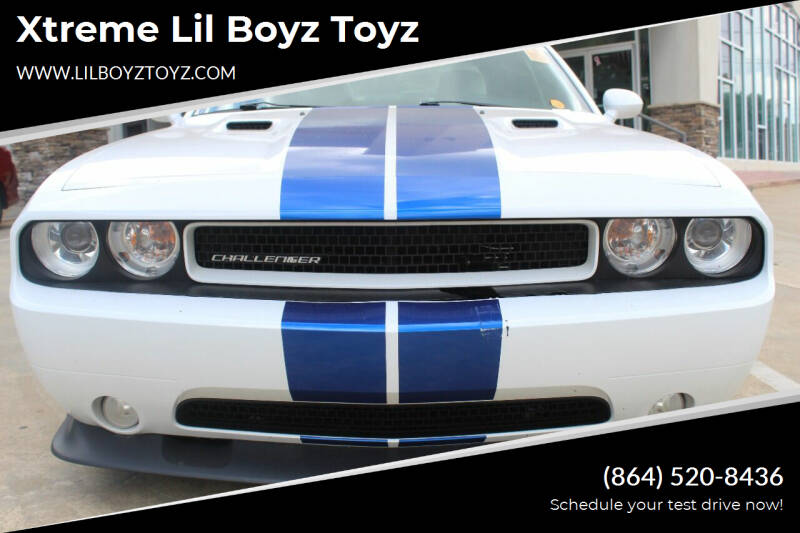 2011 Dodge Challenger for sale at Xtreme Lil Boyz Toyz in Greenville SC
