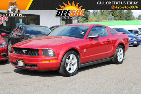 2009 Ford Mustang for sale at Del Sol Auto Sales in Everett WA