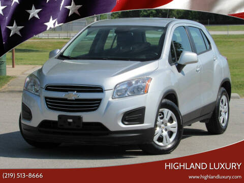 2016 Chevrolet Trax for sale at Highland Luxury in Highland IN