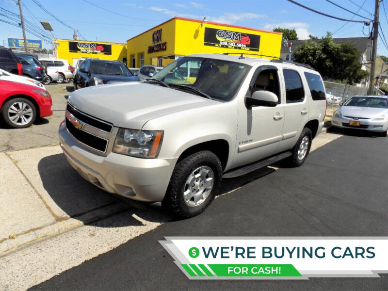 2007 Chevrolet Tahoe for sale at GSM Auto Sales in Linden NJ