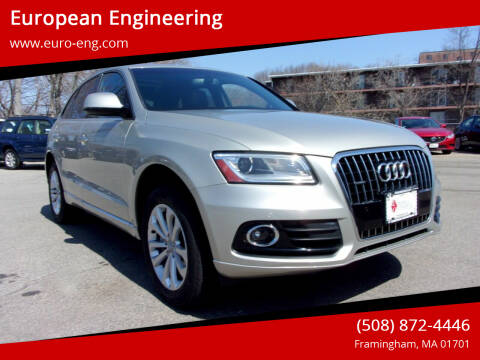 2016 Audi Q5 for sale at European Engineering in Framingham MA