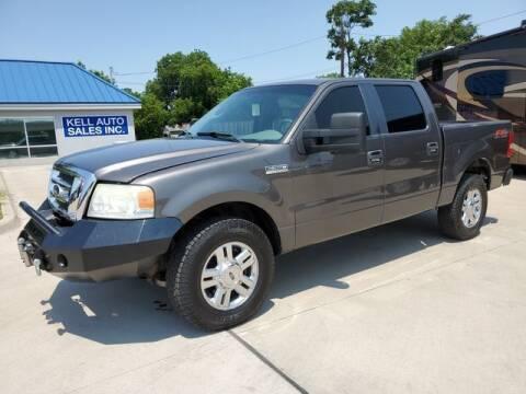 2007 Ford F-150 for sale at Kell Auto Sales, Inc - Grace Street in Wichita Falls TX