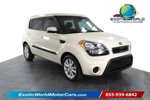 2013 Kia Soul for sale at Exotic World Motor Cars in Addison TX