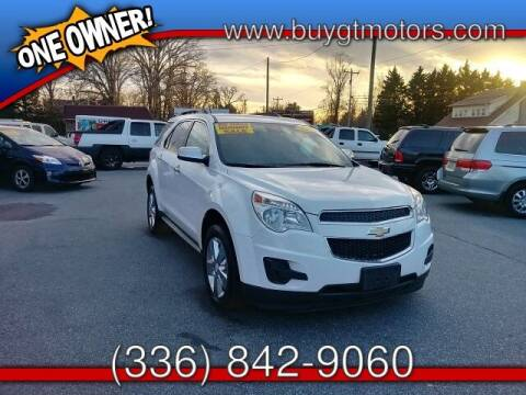 2014 Chevrolet Equinox for sale at GT Motors, LLC in Elkin NC