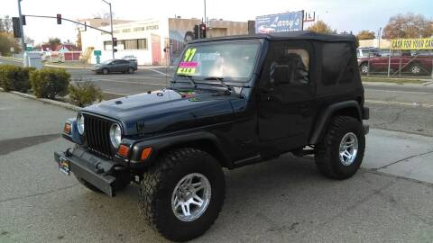 1997 Jeep Wrangler for sale at Larry's Auto Sales Inc. in Fresno CA