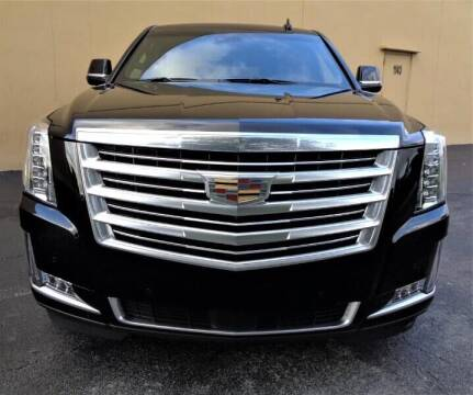 2017 Cadillac Escalade ESV for sale at Selective Motor Cars in Miami FL