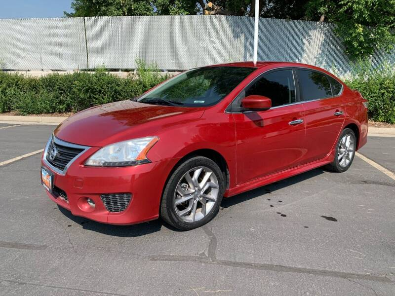 2013 Nissan Sentra for sale at BITTON'S AUTO SALES in Ogden UT