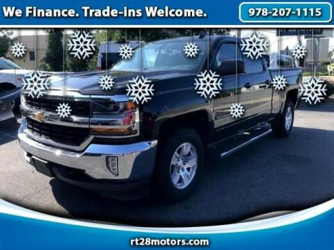 2018 Chevrolet Silverado 1500 for sale at RT28 Motors in North Reading MA