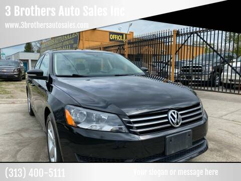 2014 Volkswagen Passat for sale at 3 Brothers Auto Sales Inc in Detroit MI