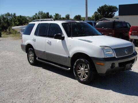 2005 Mercury Mountaineer for sale at Frieling Auto Sales in Manhattan KS