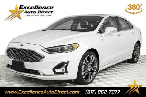 2020 Ford Fusion for sale at Excellence Auto Direct in Euless TX