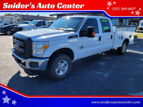 2015 Ford F-250 Super Duty for sale at Snider's Auto Center in Titusville FL