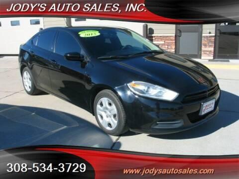2015 Dodge Dart for sale at Jody's Auto Sales in North Platte NE