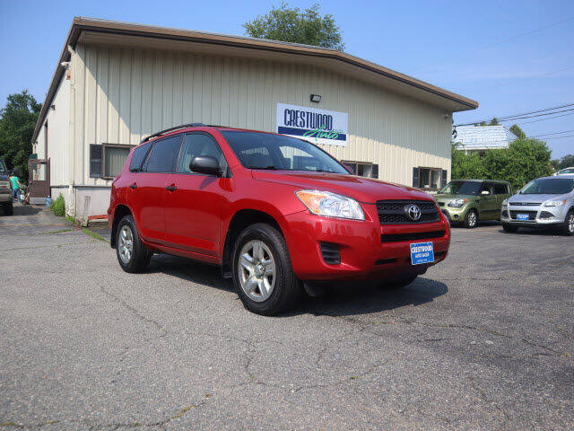 2009 Toyota RAV4 for sale at Crestwood Auto Sales in Swansea MA