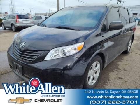 2015 Toyota Sienna for sale at WHITE-ALLEN CHEVROLET in Dayton OH