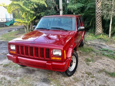 1999 Jeep Cherokee for sale at OVE Car Trader Corp in Tampa FL