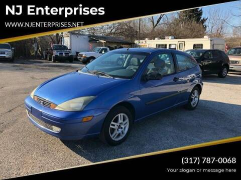2003 Ford Focus for sale at NJ Enterprises in Indianapolis IN