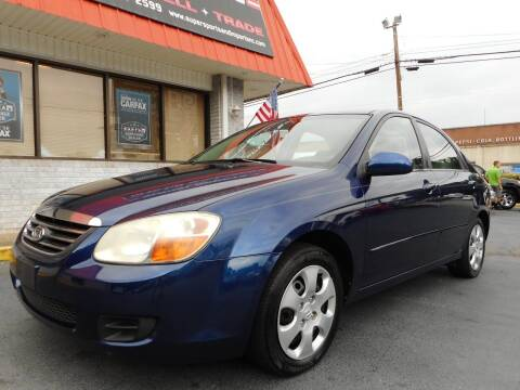 2008 Kia Spectra for sale at Super Sports & Imports in Jonesville NC