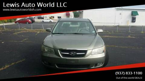 2007 Hyundai Sonata for sale at Lewis Auto World LLC in Brookville OH