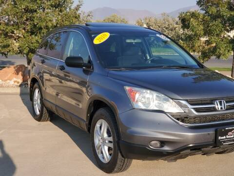 2010 Honda CR-V for sale at FRESH TREAD AUTO LLC in Springville UT
