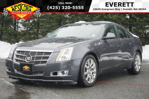 2008 Cadillac CTS for sale at West Coast Auto Works in Edmonds WA