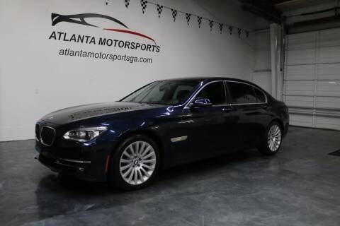 2013 BMW 7 Series for sale at Atlanta Motorsports in Roswell GA