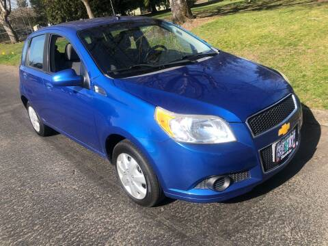 2010 Chevrolet Aveo for sale at Blue Line Auto Group in Portland OR