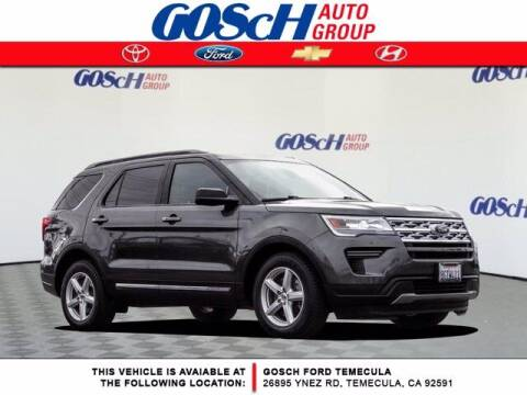 2018 Ford Explorer for sale at BILLY D SELLS CARS! in Temecula CA