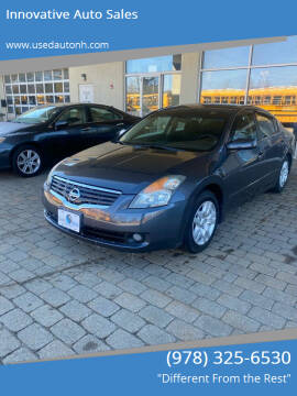 2009 Nissan Altima for sale at Innovative Auto Sales in North Hampton NH