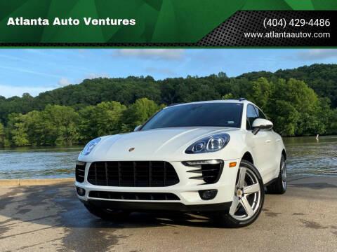 2018 Porsche Macan for sale at Atlanta Auto Ventures in Roswell GA