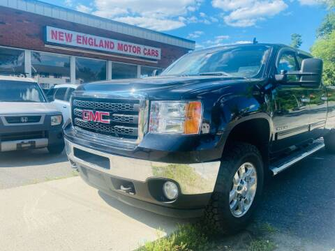 2011 GMC Sierra 3500HD for sale at New England Motor Cars in Springfield MA