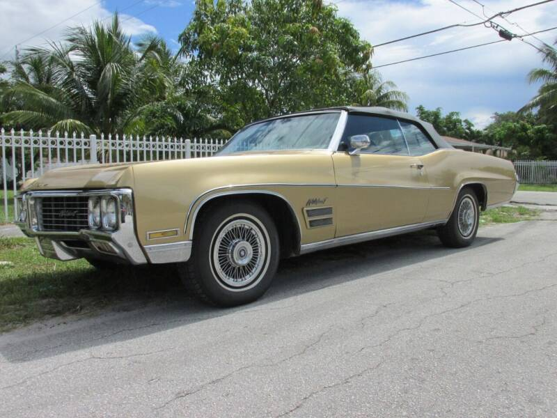 1970 Buick Wildcat 455 for sale at TROPICAL MOTOR CARS INC in Miami FL