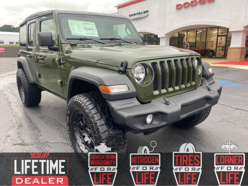 2021 Jeep Wrangler Unlimited for sale in Easley, SC