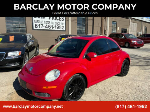 2008 Volkswagen New Beetle for sale at BARCLAY MOTOR COMPANY in Arlington TX