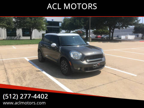 2011 MINI Cooper Countryman for sale at ACL MOTORS in Austin TX