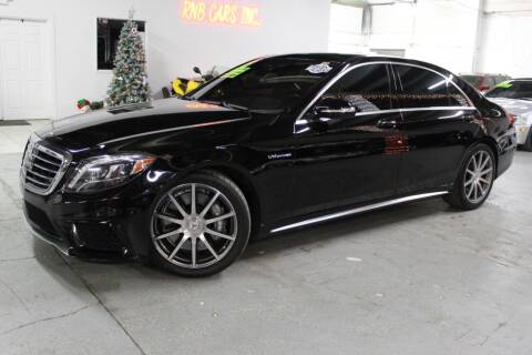 2015 Mercedes-Benz S-Class for sale at R n B Cars Inc. in Denver CO