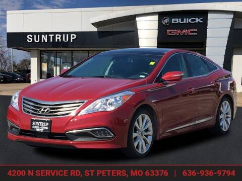2016 Hyundai Azera for sale at SUNTRUP BUICK GMC in Saint Peters MO