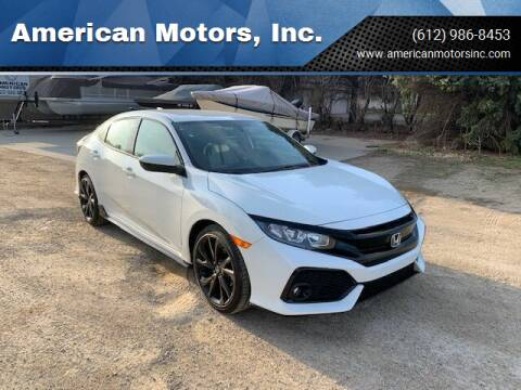 2018 Honda Civic for sale at American Motors, Inc. in Farmington MN
