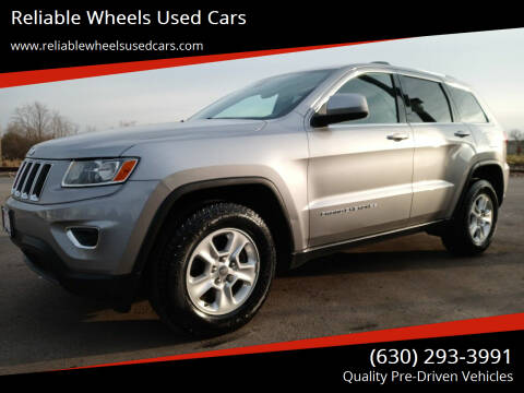 2015 Jeep Grand Cherokee for sale at Reliable Wheels Used Cars in West Chicago IL