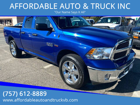 2019 RAM Ram Pickup 1500 Classic for sale at AFFORDABLE AUTO & TRUCK INC in Virginia Beach VA