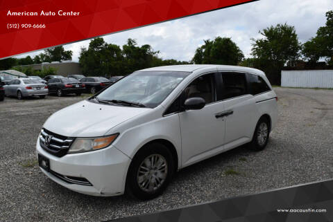 2014 Honda Odyssey for sale at American Auto Center in Austin TX
