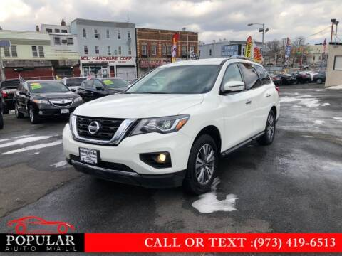 2019 Nissan Pathfinder for sale at Popular Auto Mall Inc in Newark NJ