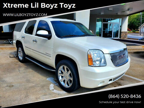2011 GMC Yukon for sale at Xtreme Lil Boyz Toyz in Greenville SC
