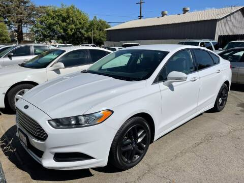 2013 Ford Fusion for sale at River City Auto Sales Inc in West Sacramento CA