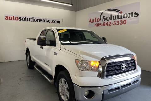 2008 Toyota Tundra for sale at Auto Solutions in Warr Acres OK