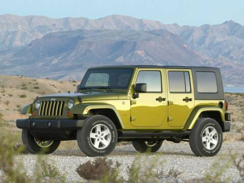 2010 Jeep Wrangler Unlimited for sale at GRIEGER'S MOTOR SALES CHRYSLER DODGE JEEP RAM in Valparaiso IN