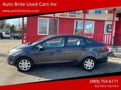 2012 Ford Fiesta for sale at Auto Brite Used Cars Inc in Saginaw MI