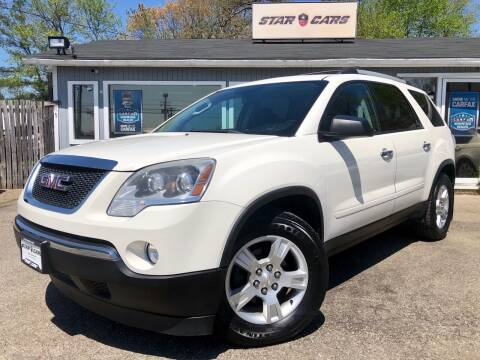 2012 GMC Acadia for sale at Star Cars LLC in Glen Burnie MD