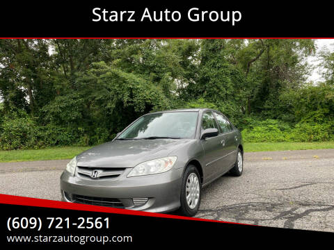2004 Honda Civic for sale at Starz Auto Group in Delran NJ